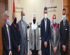 مصر اليوم - القباج تستعرض تقريرًا عن جهود مشروع 2 كفاية للحد من الزيادة السكانية