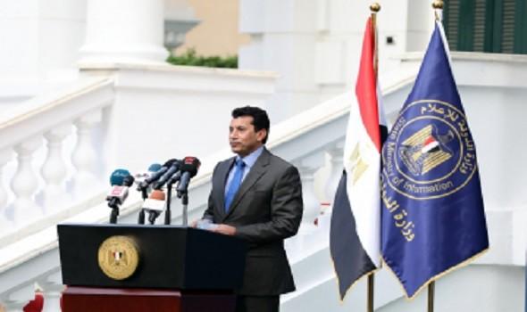 مصر اليوم - وزير الرياضة المصري يدعم لاعبة الدراجات ابتسام زايد قبل السفر إلى طوكيو