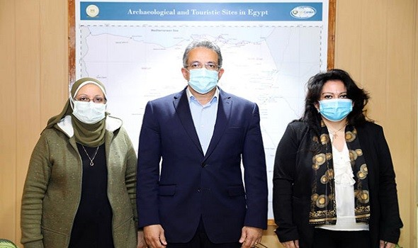 مصر اليوم - افتتاح مقبرة الملك زوسر في سقارة بمصر بعد ترميمها