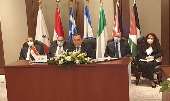 مصر اليوم - اتفاق رباعي علي خارطة طريق لإيصال الغاز إلي بيروت