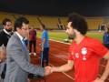 مصر اليوم - وزير الرياضة يلتقي محمد صلاح على هامش زيارته للمعسكر التدريبي للمنتخب