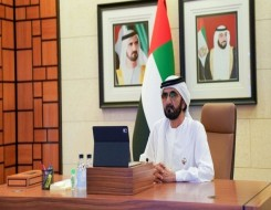 مصر اليوم - دعوة إماراتية من محمد بن راشد إلى الرئيس اللبناني لزيارة دبي
