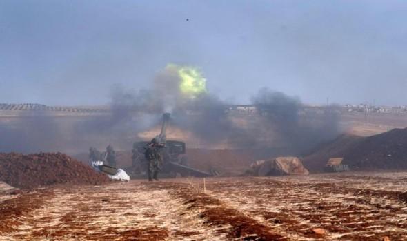 مصر اليوم - مقتل 14 بتفجير حافلة عسكرية في دمشق وسرايا قاسيون تتبنى وقصف صاروخي على إدلب