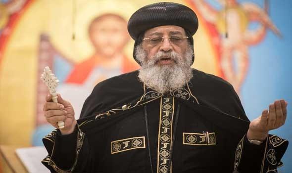 مصر اليوم - البابا تواضروس يلتقي وفد أكاديمية شباب المتوسط