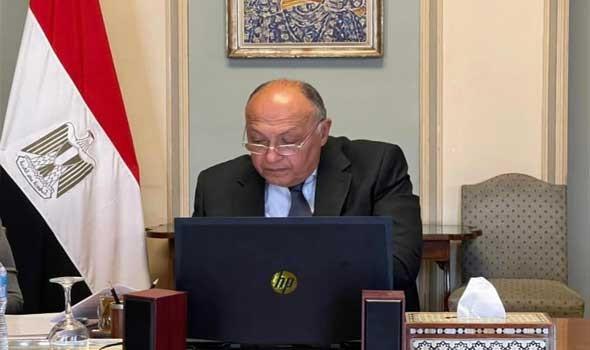 مصر اليوم - وزير الخارجية المصري يؤكد علي تقديم مصر كل أشكال المساندة لمؤسسة آنا ليند