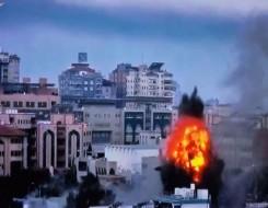 مصر اليوم - إطلاق صاروخ من غزة فوق أشكول والقبة الحديدية تعترضه