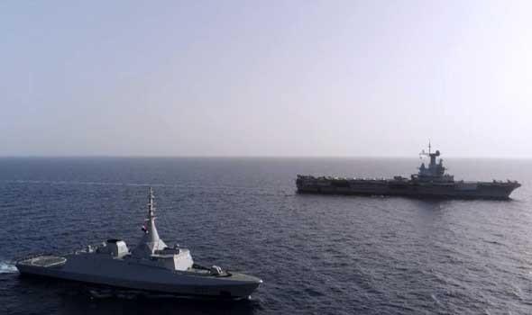 مصر اليوم - البحرية المصرية تنفذ عدداً من التدريبات العابرة مع نظيرتها اليونانية والأميركية والإسبانية