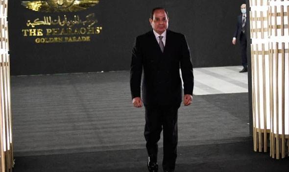 مصر اليوم - الرئاسة المصرية تعلن أن الرئيس عبد الفتاح السيسي التقى أمير قطر في بغداد