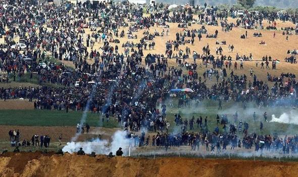 مصر اليوم - مقتل إسرائيلي وإصابة 8 آخرين جنوب تل أبيب بقصف صاروخي من قطاع غزة