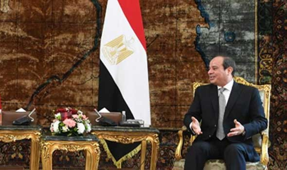 مصر اليوم - السيسي يوجه رسالة للمجتمع الدولي حول سد النهضة