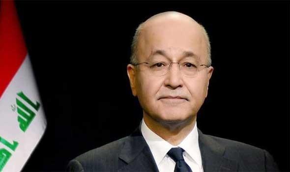 مصر اليوم - الرئيس العراقي يلتقي الرئيس المصري وأمير قطر بقمة ثلاثية مشتركة في بغداد
