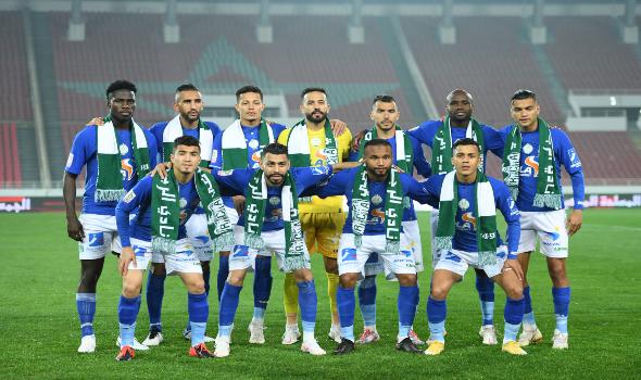 مصر اليوم - الرجاء يفوز على نهضة الزمامرة في الدوري المغربي