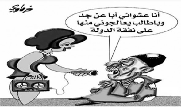 مصر اليوم - بريشة : سعيد الفرماوي