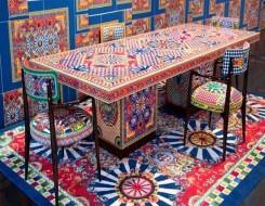 مصر اليوم - ألوان مبهجة تتضمنها أول مجموعة مفروشات من Dolce & Gabbana Casa