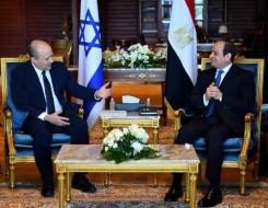 مصر اليوم - بينيت رئيس وزراء اسرائيل في شرم الشيخ يلتقي  الرئيس السيسي لإحياء عملية السلام