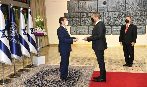 مصر اليوم - اعتماد سفير البحرين الجديد في إسرائيل للمرة الأولى في التاريخ
