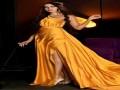 مصر اليوم - رحمة رياض تتألق بملابس السهرات الملونة
