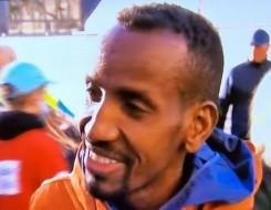 مصر اليوم - البلجيكي من أصل صومالي بشير عبدي يفوز في الدورة ال 40 من ماراثون روتردام الهولندي
