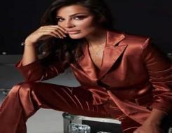 مصر اليوم - نادين نسيب نجيم تتألق ببذلة رائعة من الساتان